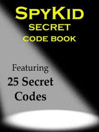 SpyKid Code Book_promo
