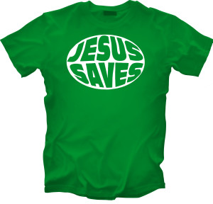 JesusSaves_Green_front